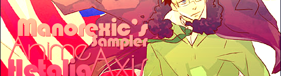 Manorexic's Anime Sampler – Hetalia: Axis Powers