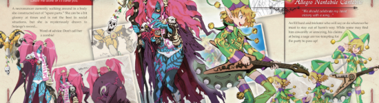 Press Release — New Code Of Princess Co-Op Trailer, Art Book Sample Pages Released
