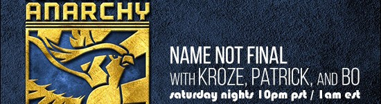 Name Not Final – Episode 002 (March 29th & April 5th)