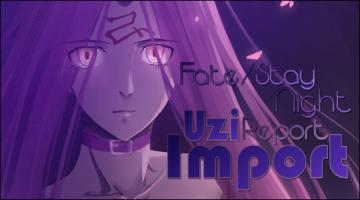 The Uzi Import Report: Fate/Stay Night (2014)