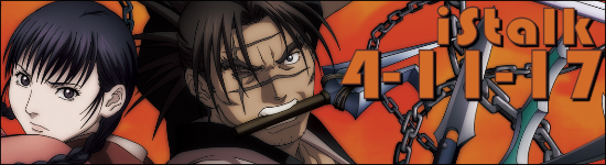 iStalk 4/11/17 – Your Name, Blade of the Immortal, My Hero Academia