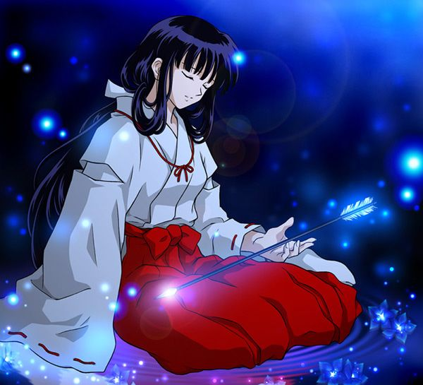 Inuyasha: Kikyo - Wallpaper Colection