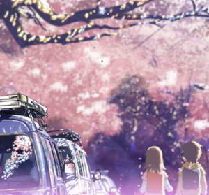 5 Centimeters Per Second - Cherry Blossoms