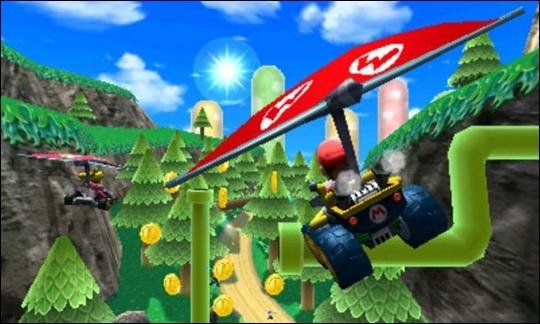 Mario Kart 7 Glider