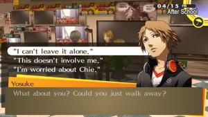 Persona 4 Dialog