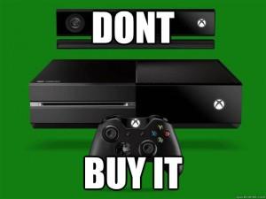 XboxOneDontBuy