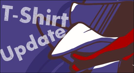 Prinny T-Shirt Update