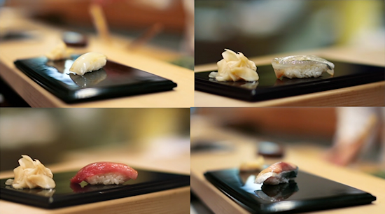 I sort of have to put in pictures of sushi...
