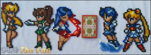 Sailor Moon - Inner Scout Bundle (Resized)