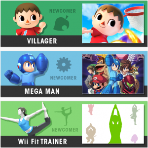 Super Smash Bros newcomers