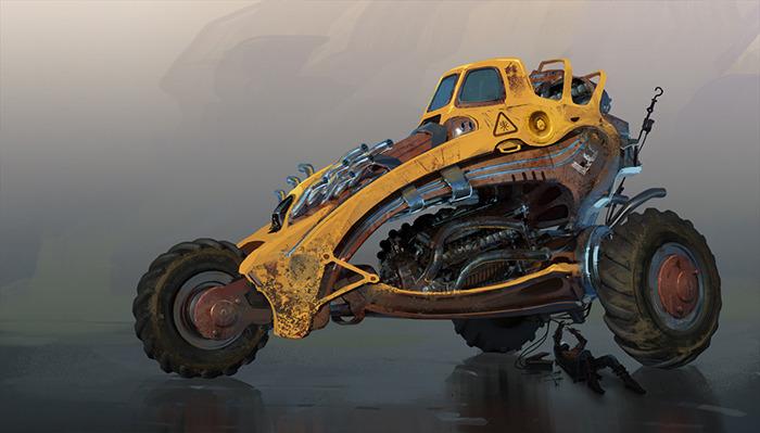 Bullet Bros Car