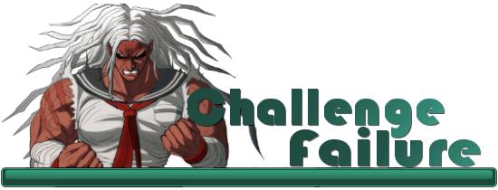Siege Challenge Failure