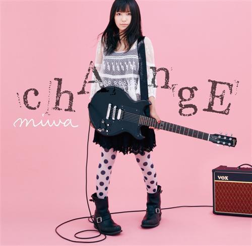 Miwa Change Album Cover