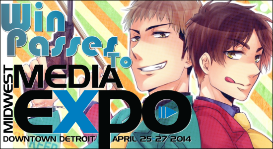 Win Passes To Midwest Media Expo