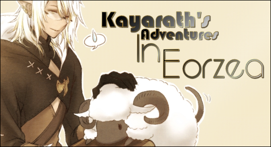 Kayarath's Adventures In Eorzea