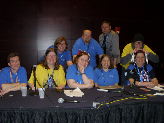 Zenkaikon is brought to you by the hard work of this lot.