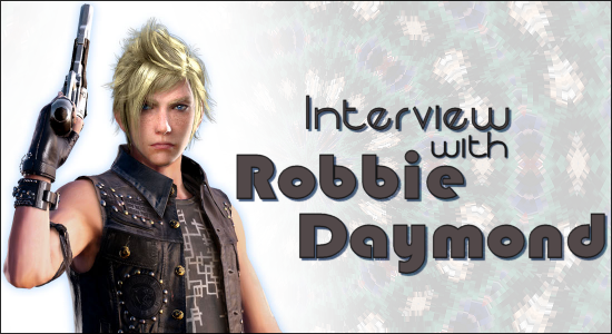 Robbie Daymond Interview Banner