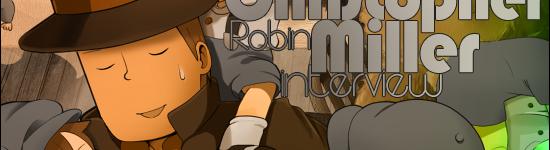 Kana's Korner – Interview with Christopher Robin Miller