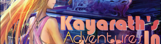 Kayarath's Adventures In Jupiter Jazz Part 2: Liking You