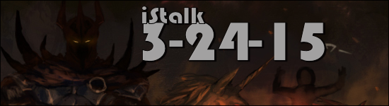 iStalk 3/24/15 – Overlord, Pikaia, Attack on Titan