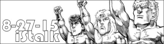 iStalk 8/27/15 – Cyborg 009 vs. Devilman, Hokuto no Ken: Ichigo Aji, Dance with Devils