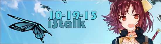 iStalk 10/19/15 – Atelier Sophie, Seraph of the End, Yuka Iguchi
