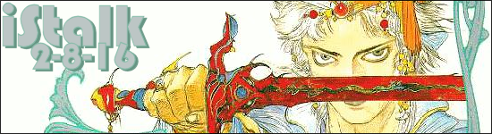 iStalk 2/8/16 – Psycho-Pass, Kamen Rider, Final Fantasy II