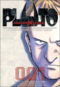 PLUTO vol.1 w/Inspector Gesicht on cover